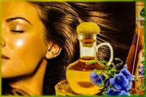 льняное масло для волос рецепты